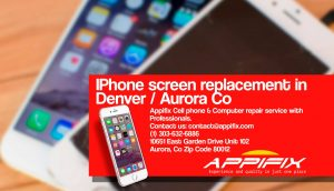 Iphone 7 Plus repair experts Aurora Denver Co