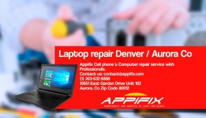 Fujitsu laptop repair Denver Aurora Co