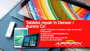 HP tablet repair Aurora Denver Co