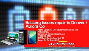 Battery issues repair Aurora Denver Co