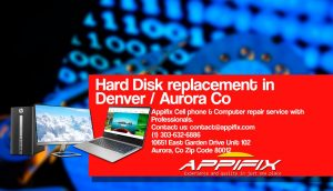 Hard Disk replacement Aurora Denver Co