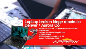 Laptop broken Hinge repair Aurora Denver Co