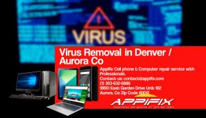 Virus Removal Aurora Denver Co