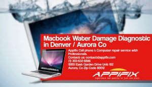 MACBOOK PRO COMPUTERS WATER DAMAGE DIAGNOSTIC AURORA DENVER